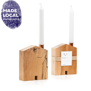 Teach Candle Holder - Small