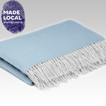 Load image into Gallery viewer, Mini Blanket - Ice Blue