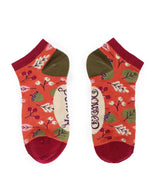 Load image into Gallery viewer, Ladies Socks - Tangerine Acorns