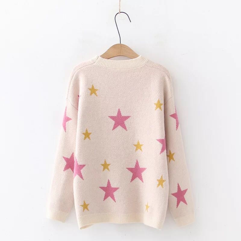 Star Jumper Pink