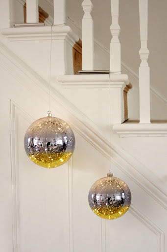 Glass Gold Bauble