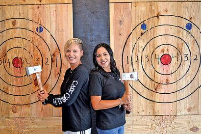 Cape Coral Team Building Activity | Axe Throwing Game
