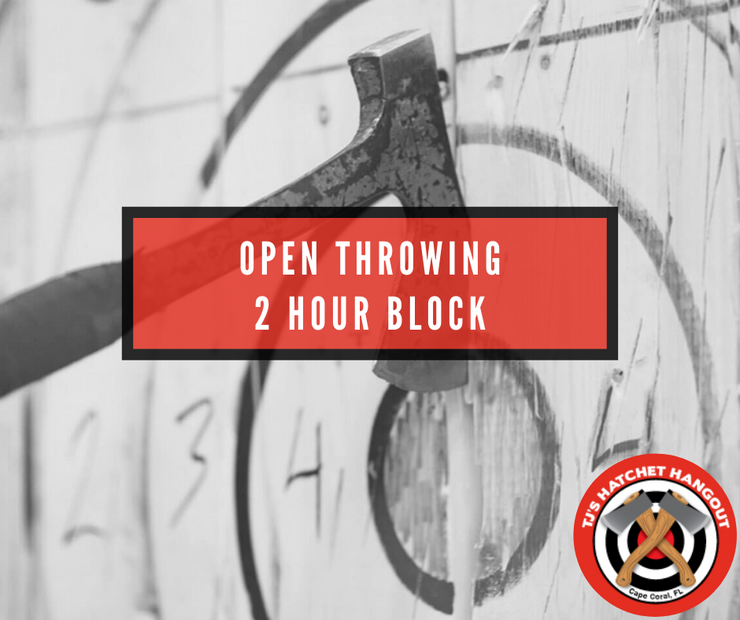 Open Throwing - 2 Hour Block