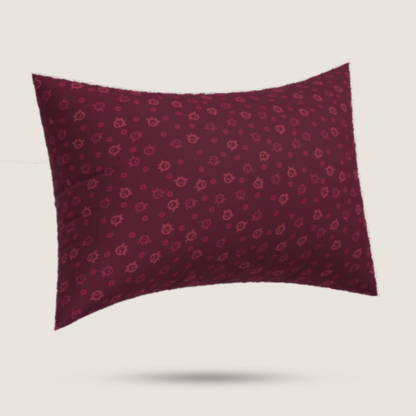 Pillowcase - Money Ox Burgundy