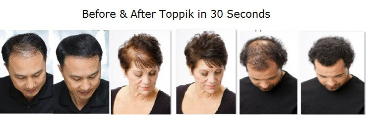 TOPPIK HAIR FIBERS, 12G SIZE
