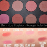 Ben Nye -Fashion Rouge Palette - 8 colours
