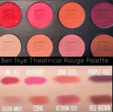 Ben Nye - Theatrical Rouge Palette