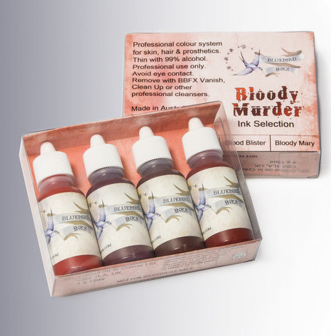 BluebirdFX Ink Selection Pack - Bloody Murder