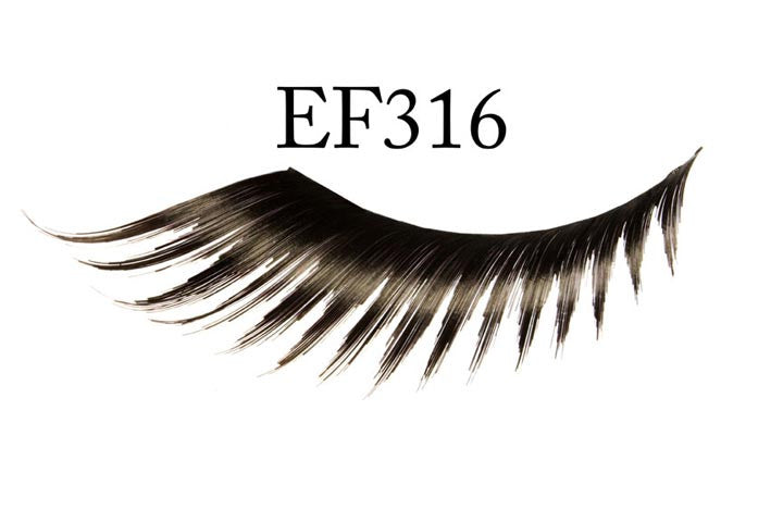 #EF316 - FEATHERED EYELASH