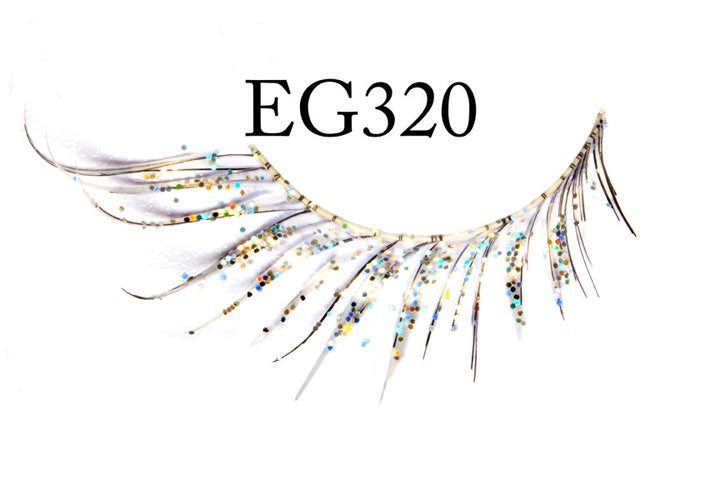 #EG320 - GLITTER FEATHERED EYELASH