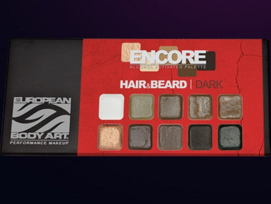Encore HAIR & BEARD Palette - Dark