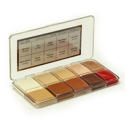 Jordane Cosmetics - TOTAL TATTOO COVERAGE PALETTE FLESHTONE