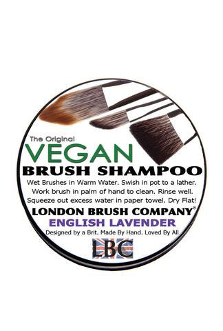 London Brush Company Vegan Solid Brush Shampoo: English Lavender
