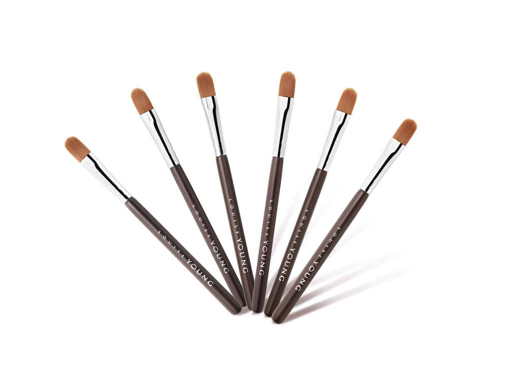 Louise Young - Mini Brushes (Pack of 6)