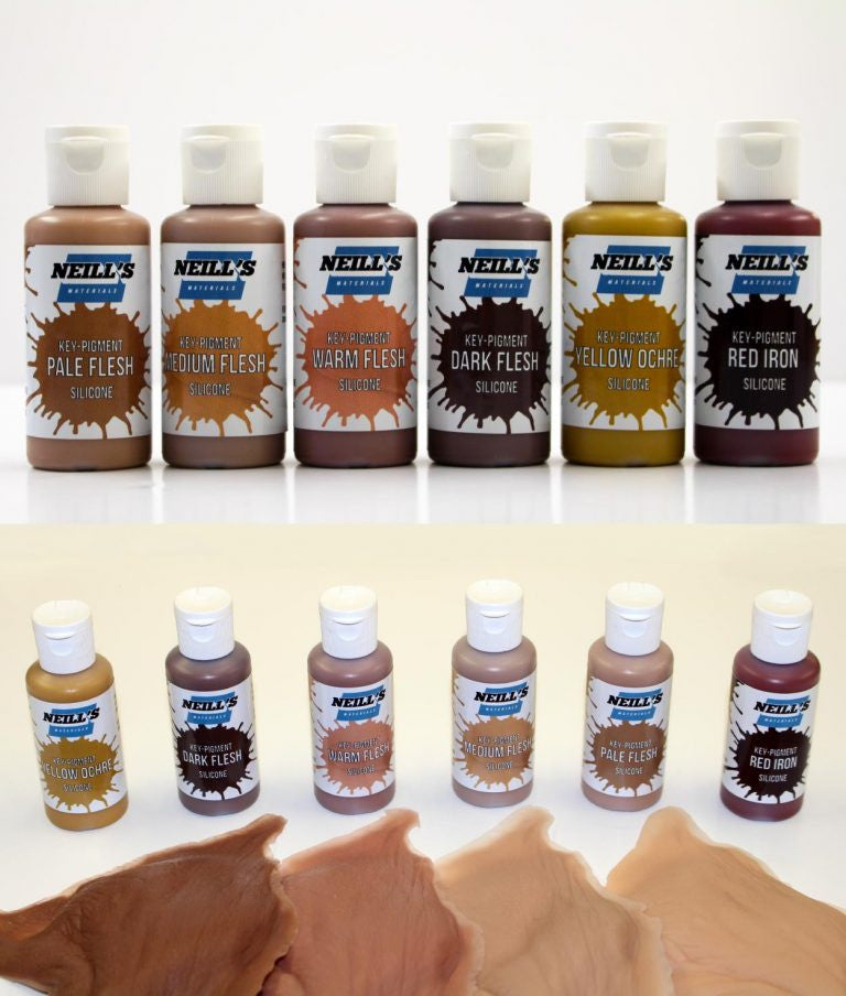 Neill's Materials  - Key-Pigments Silicone Pigments