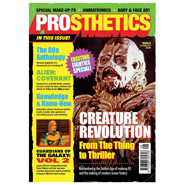 Prosthetics Magazine Issue 8 Autumm 2017