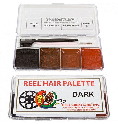 Encore HAIR & BEARD Palette - Light - Dark