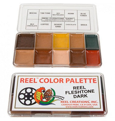 REEL Creations - Dark Fleshtone Palette