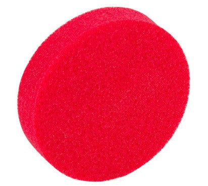 Red Stipple Sponge 3/4""