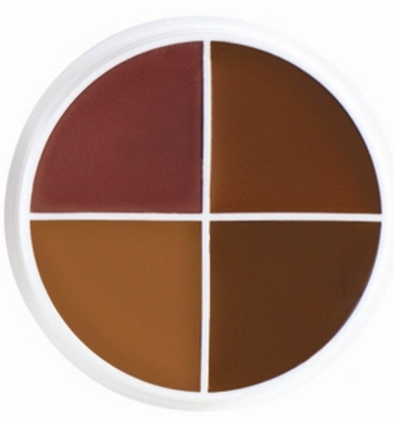 Ben Nye SK3 Shadow Colour Wheel (4 Colours) - TILT Makeup London