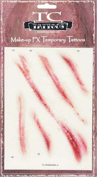 TWILIGHT CREATIONS TATTOOS – WHIP MARKS
