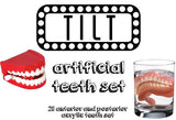 TILT - Artificial Teeth Set