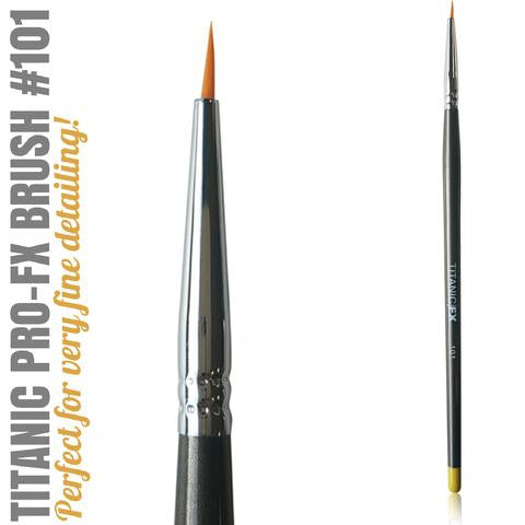 TITANIC PRO-FX BRUSH 101 - SMALL LINER BRUSH
