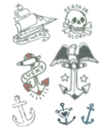 TattooedNow! Small Sailor Set