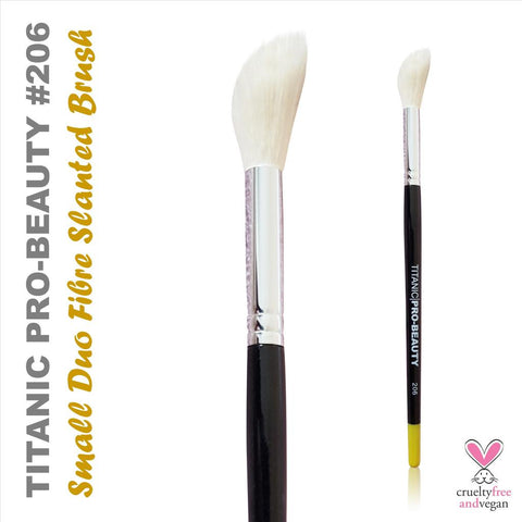 TITANIC PRO-BEAUTY BRUSH (202) - SMALL FLAT SHADER