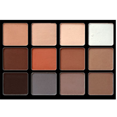 Viseart Neutral Matte Eye Palette 01