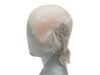Atelier Bassi GUNDUL Silicone Bald Wig with thinning hair on top