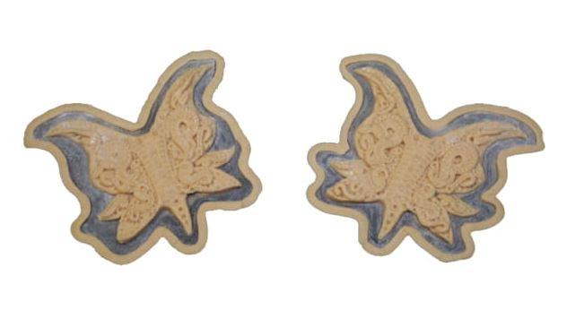 BABURKA PRODUCTION - 'BUTTERFLY' SILICONE NIPPLE COVERS (LIGHT FLESH)