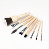 BDELLIUM SFX BRUSH SET 8 PC. WITH DOUBLE POUCH (3RD COLLECTION)