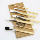 SFX GLUE BRUSH 7 PC. BRUST SET WITH ZIPLOCK POUCH