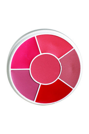 Ben Nye -Creme Blush Wheel - 6 colours