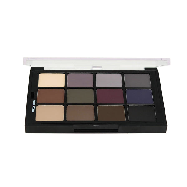 Ben Nye Studio Colors Pressed - Cool Glam Shadows Palette