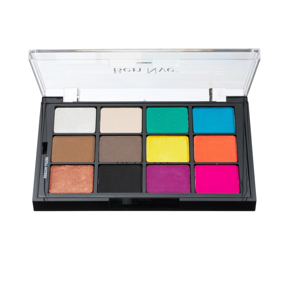Ben Nye Studio Colors Pressed - TROPICAL CONTOURS PALETTE