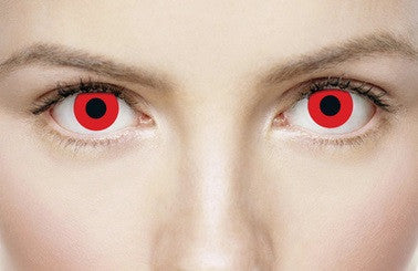 BLOODY RED - Contact Lenses