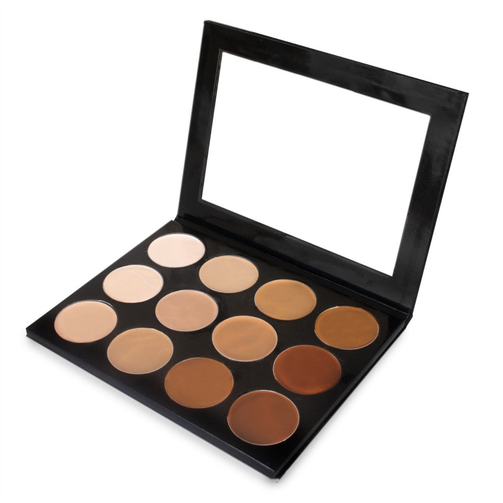 MEHRON - Celebre Pro HD Cream Foundation 12 Colour Palette