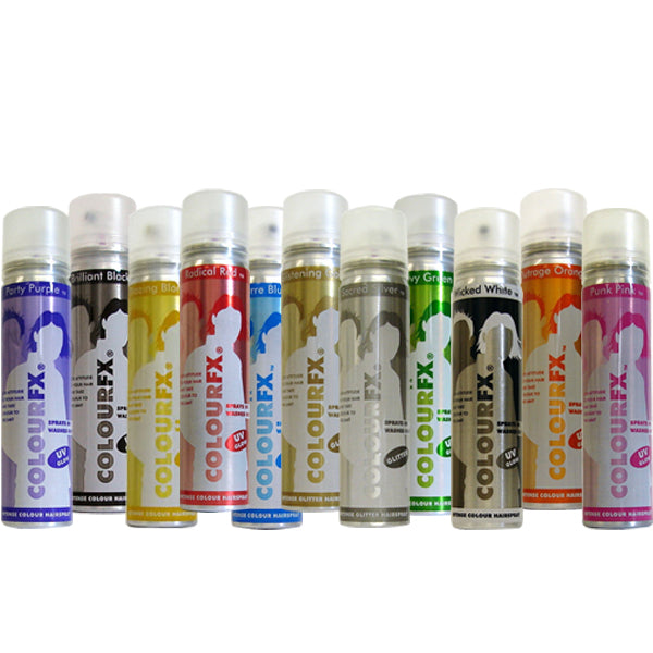 ColourFX Colour Hair Sprays (DG)