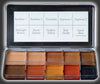Skin Illustrator - DARK FLESH TONE PALETTE