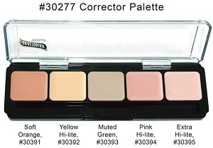Graftobian - HD Glamour Creme Palette, Corrector Light