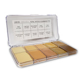 Jordane Cosmetics - TOTAL TATTOO COVERAGE PALETTE DESERT YELLOW