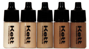 Kett Hydro Foundation Trial Pack /Olive Tones