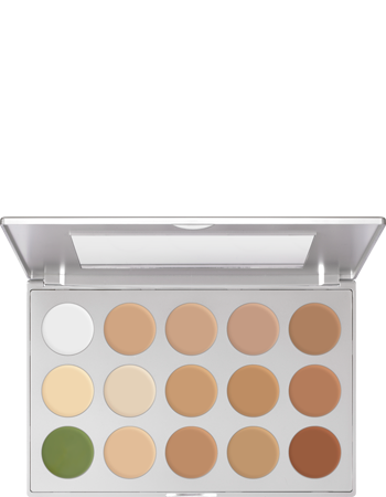 Kryolan ULTRA FOUNDATION PALETTE 15 COLORS