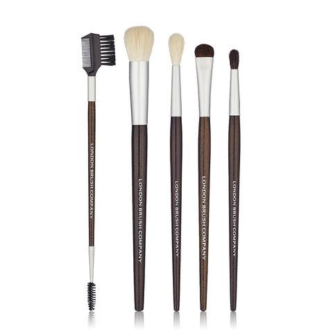 London Brush Company Makeup Brush Set: 'Bolt-On' - 6 Piece Eye and Cheek Set