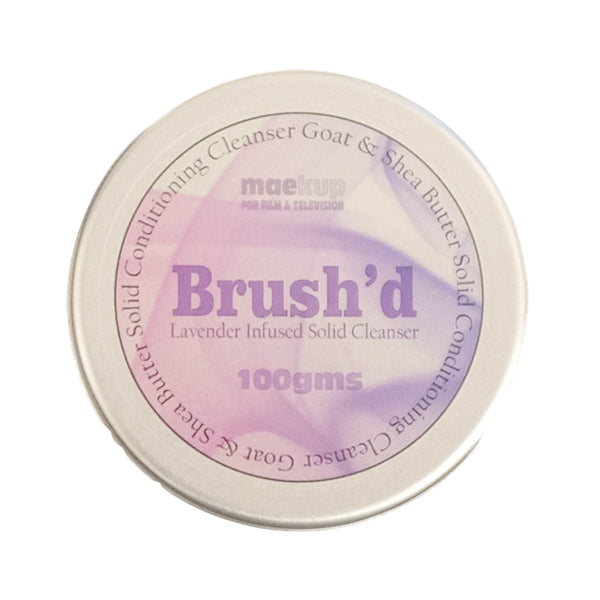 Maekup Brush'd Goat & Shea Butter  Solid Conditioning Cleanser