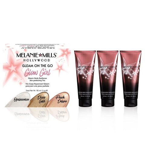 MELANIE MILLS HOLLYWOOD- GLEAM BODY RADIANCE - 1oz **New Packaging**