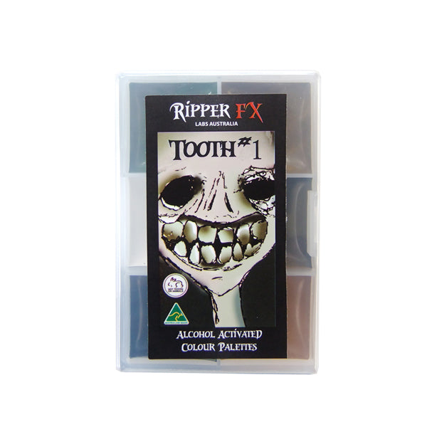 Ripper FX Mini Tooth Alcohol Palette 1