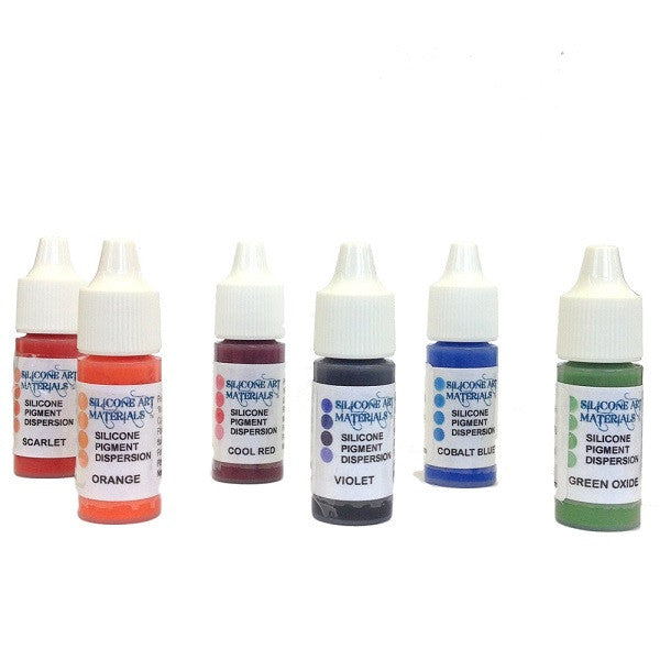 SAM -Silicone Pigments Kit - Secondary Colors